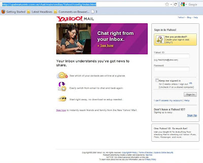 No Spam, Please: Phishing Scam: Yahoo!! Mail is Upgrading ...