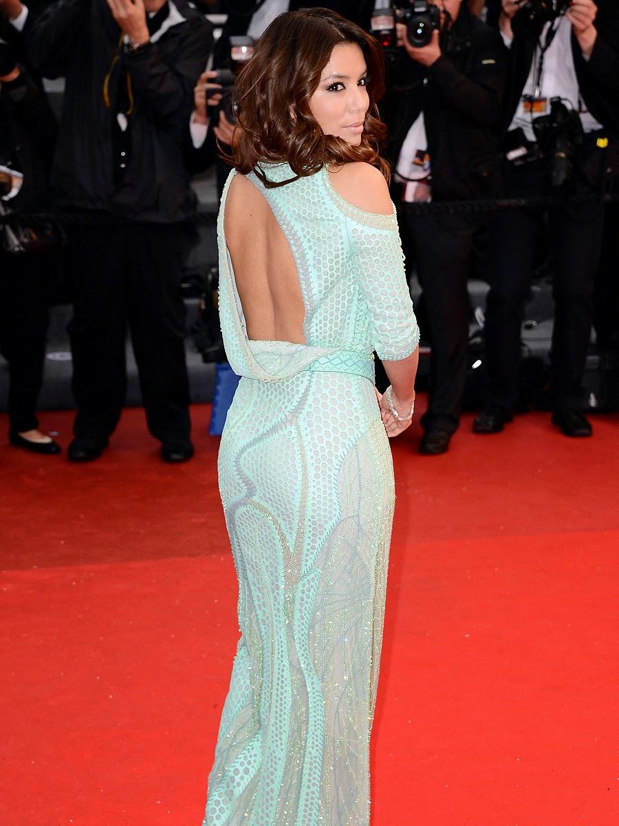 Eva Longoria Wardrobe Malfunction Cannes 2013  Paparazzi -7648