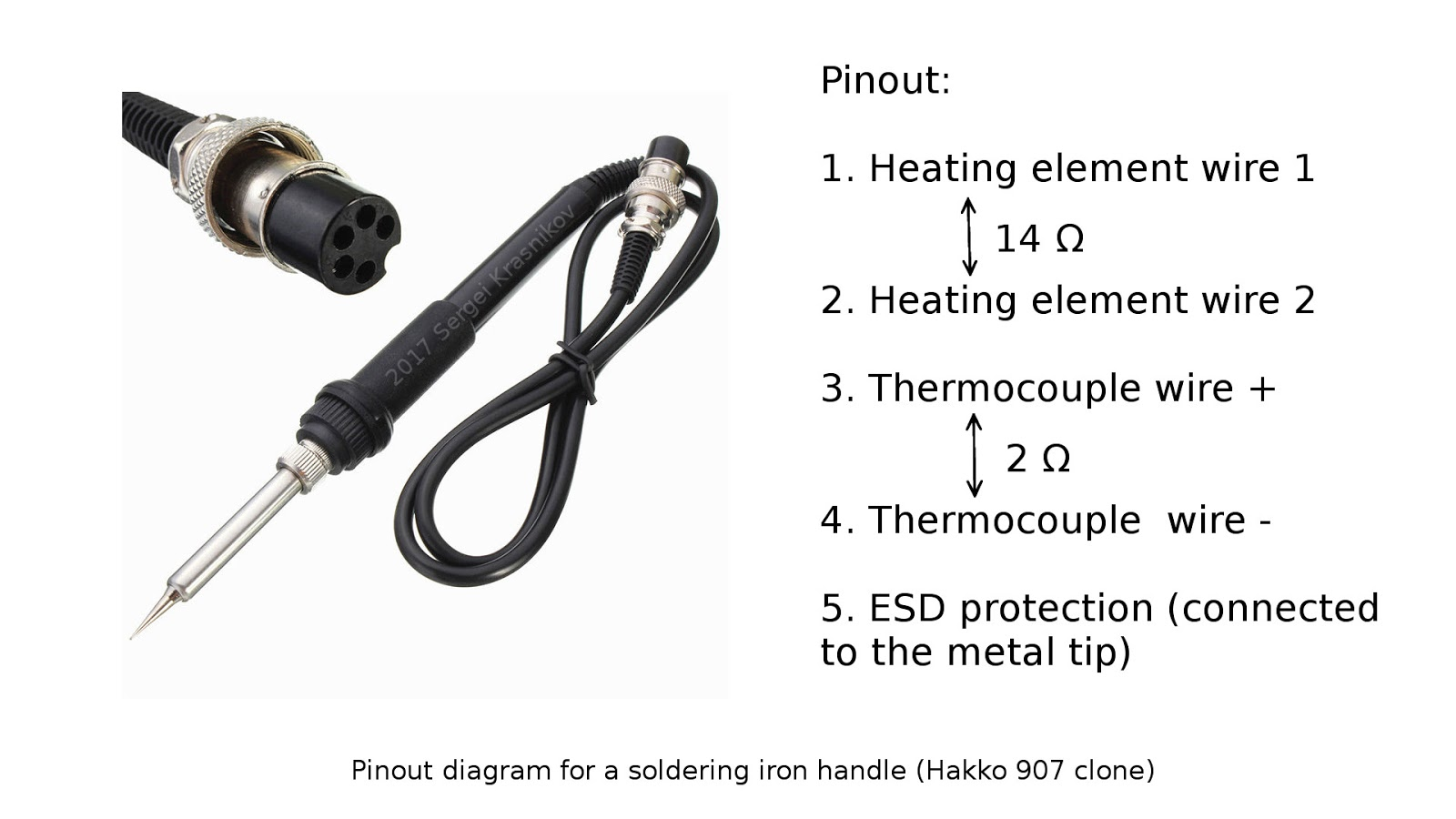 Soldering Iron Wiring Diagram Permanent Split Phase Motor Electrolab Diy De Station For 25