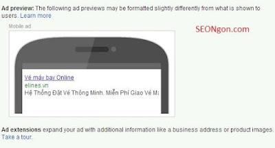 chiến dịch nâng cao google AdWords
