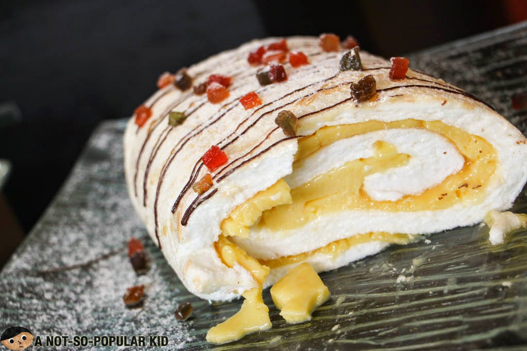 Brazo de Mercedes dessert in F All Day Dining Restaurant, BGC