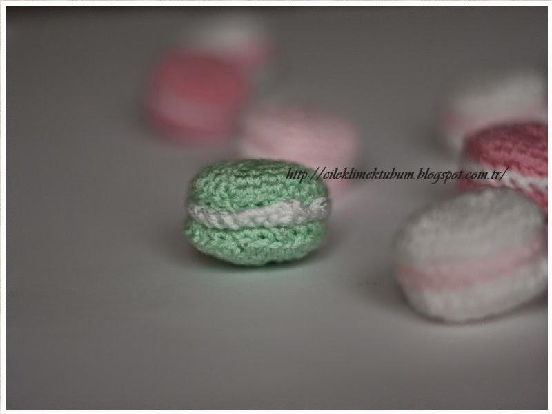 tığ işi, crochet, elişi, handmade, diy, kendinyap, DIY, macaron, tutorial, crochet tutorial, tığişi macaron yapımı, örgü, el yapımı, pastel, pastel colors, pastel renkler, fotoğraf, pembe, mint, beyaz, amigurumi, amigurumi macarons