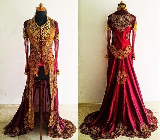 Model Baju Gaun Pengantin Sesuai Warna