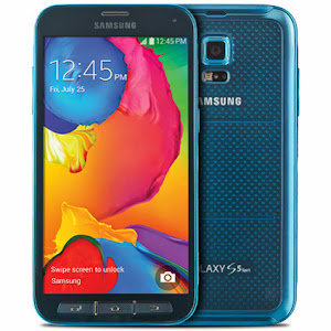 Samsung Galaxy S5 Sport for Sprint Electric Blue