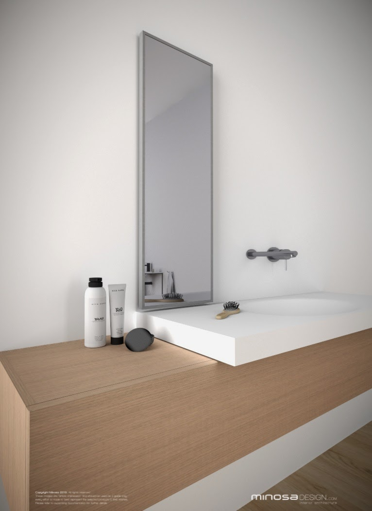Minosa A Real Showstopper Modern Bathroom: Minosa: 3D CAD Making Life Easy?