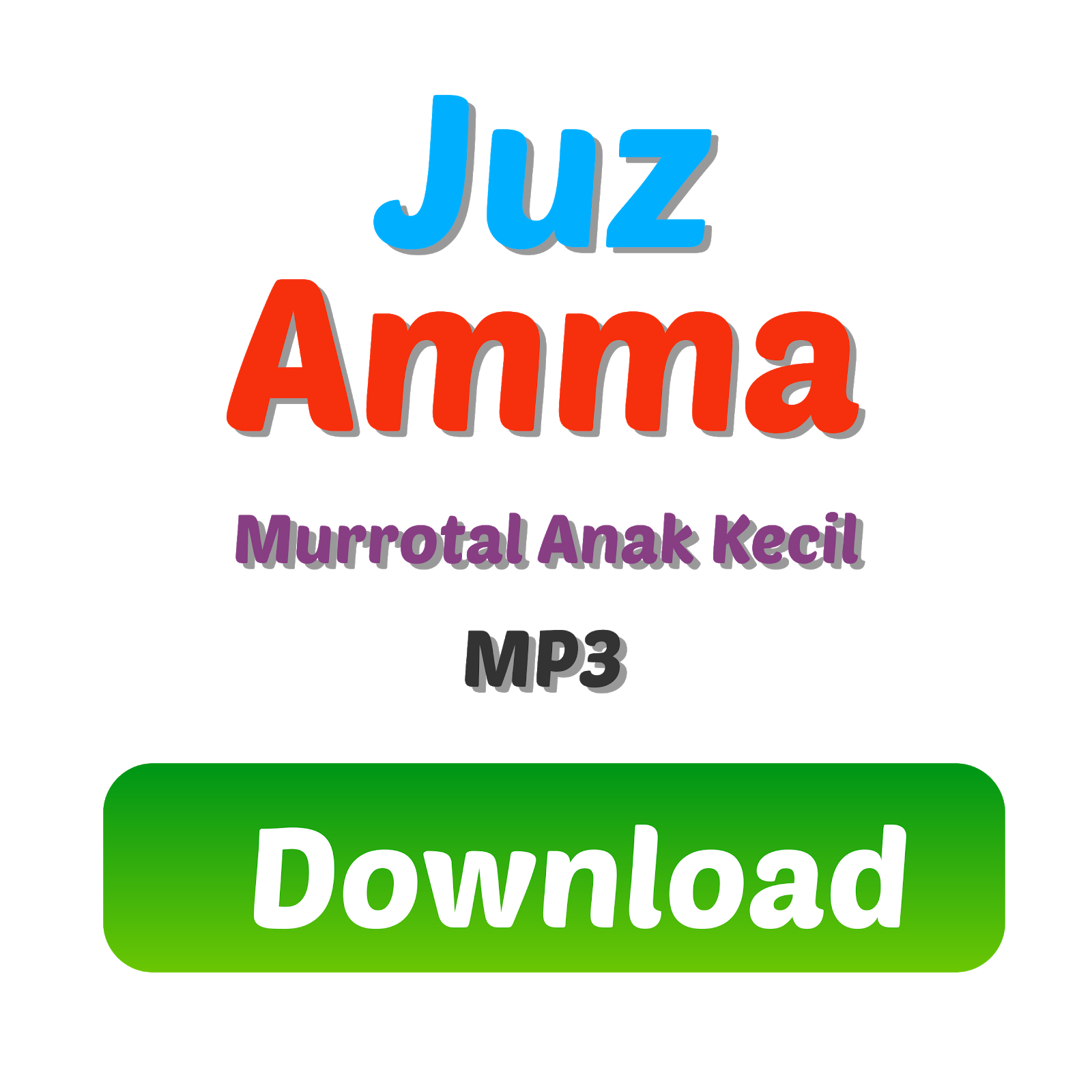 Download MP3 Murrotal Anak Kecil