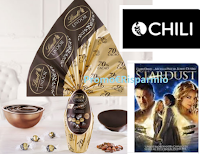 Logo ''Pasqua Lindt 2019, in regalo in Grande Cinema di Chili'': 187.000 codici per Chili e buoni cinema come premi sicuri!