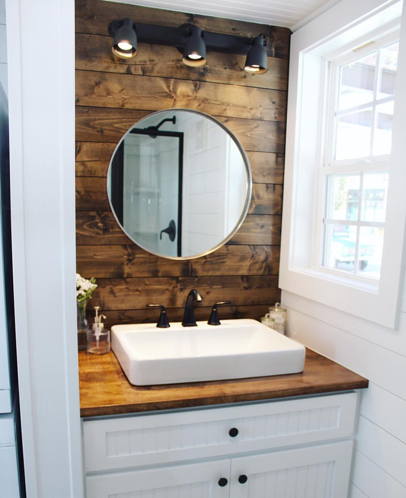 Bathroom Sinks For Tiny Houses the sprout from mustard seed tiny homes - tiny house town