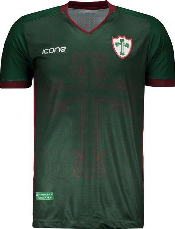 55f87ecd9c Ícone Sports lança a nova terceira camisa da Portuguesa - Show de ...