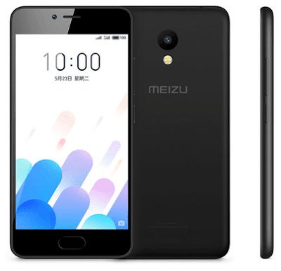 Анонси: Представлений Meizu A5 з 8-ядерний процесор і 8 Мп камерою
