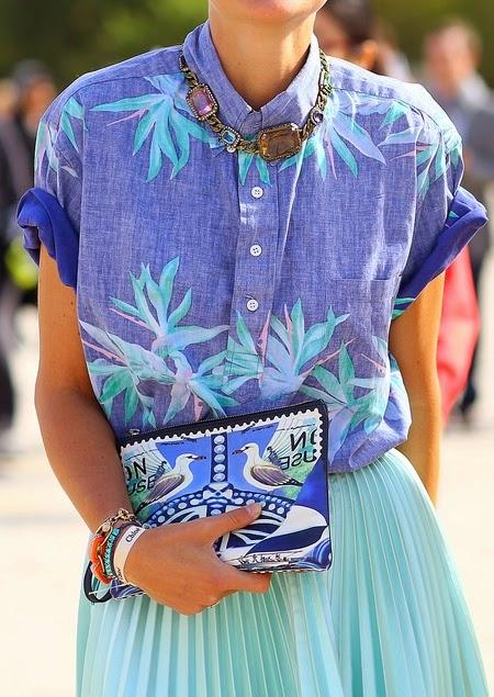80ed134ec7516 lovely denim palm print shirt   swimsuit - get exact one here