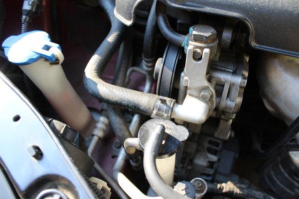 engine, coolant, under the hood, Kia, Spectra #shop #SummerCarCare #cbias