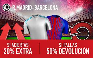 sportium Promocion clasico Real Madrid vs Barcelona 23 diciembre