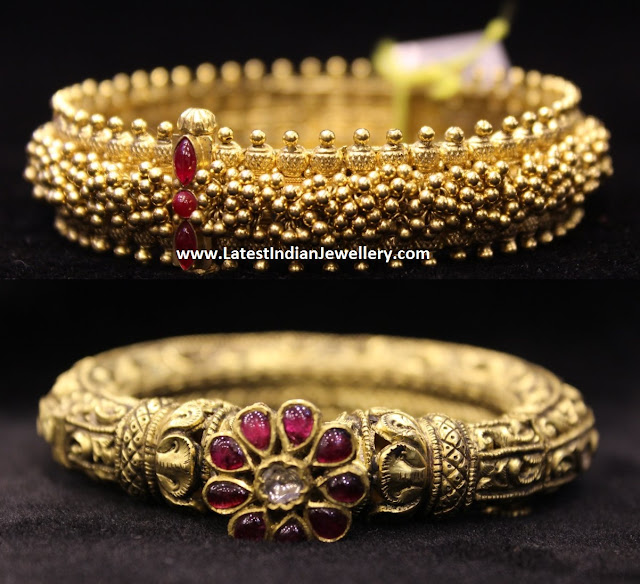 Gold Kankanam Bangle Designs