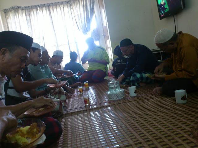 Majlis Tahlil dan Doa Selamat buat adik Izz.
