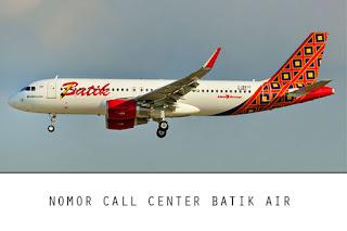 Nomor Call Center Batik Air 24 Jam
