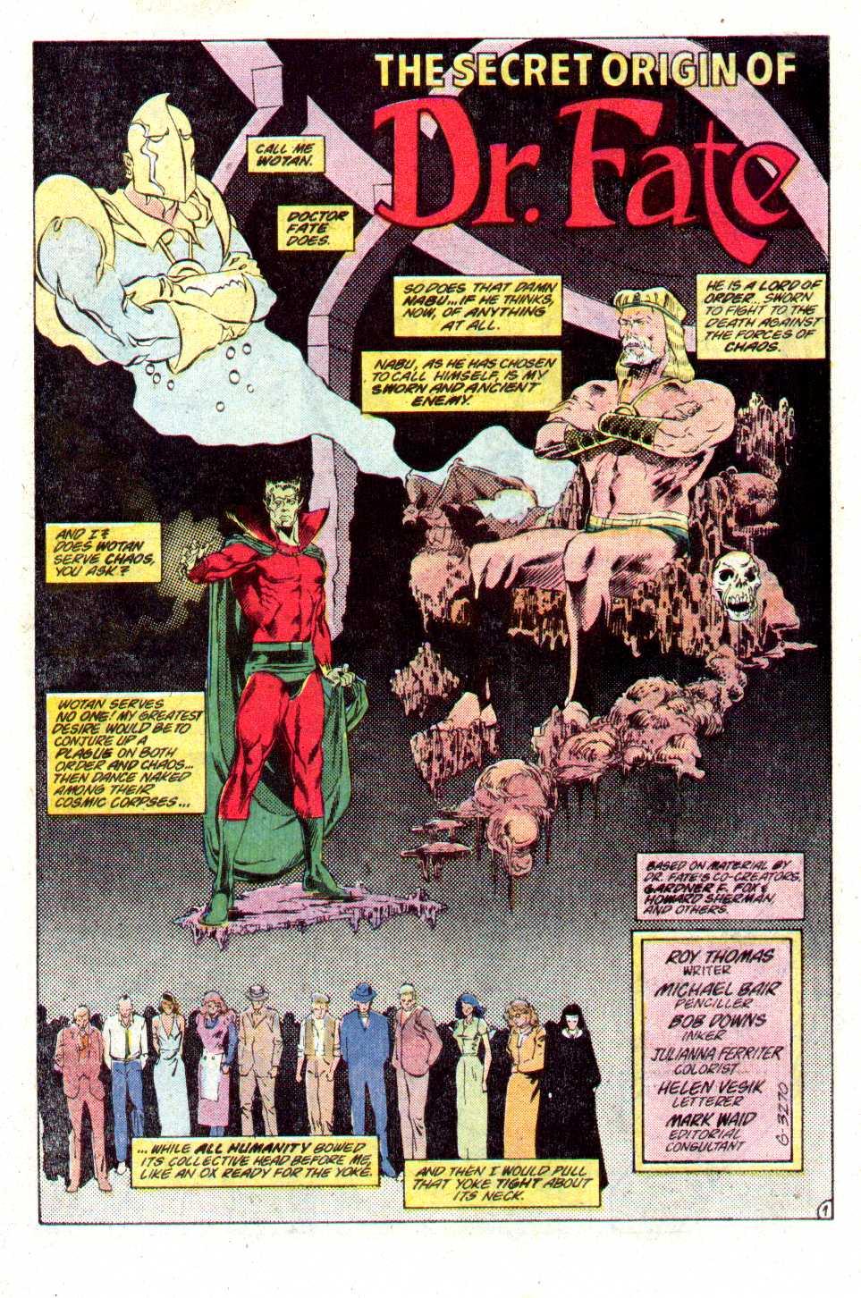 Read online Secret Origins (1986) comic -  Issue #24 - 21