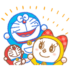 Doraemon & Dorami: Animated Stickers