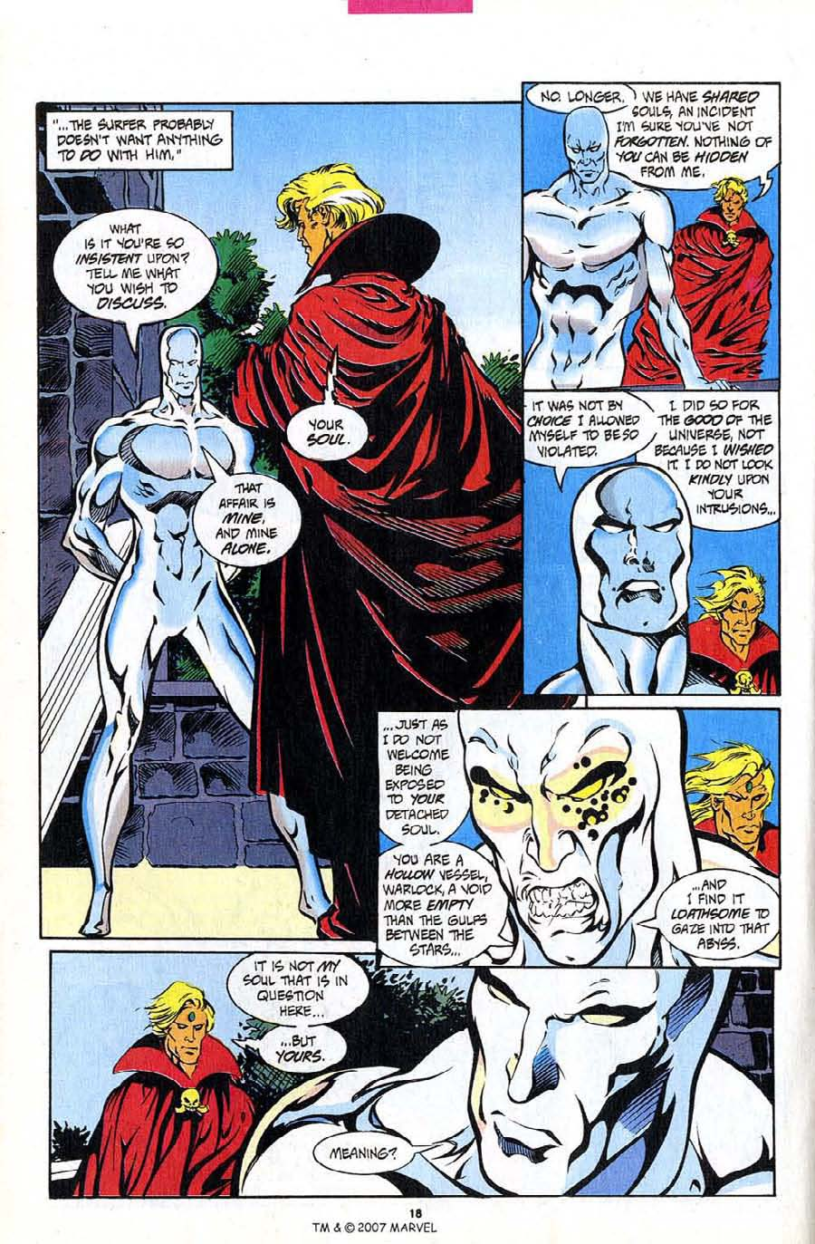 Read online Silver Surfer (1987) comic -  Issue #94 - 20