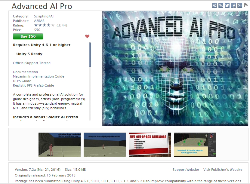 Advanced AI Pro - Unity3D Hacked