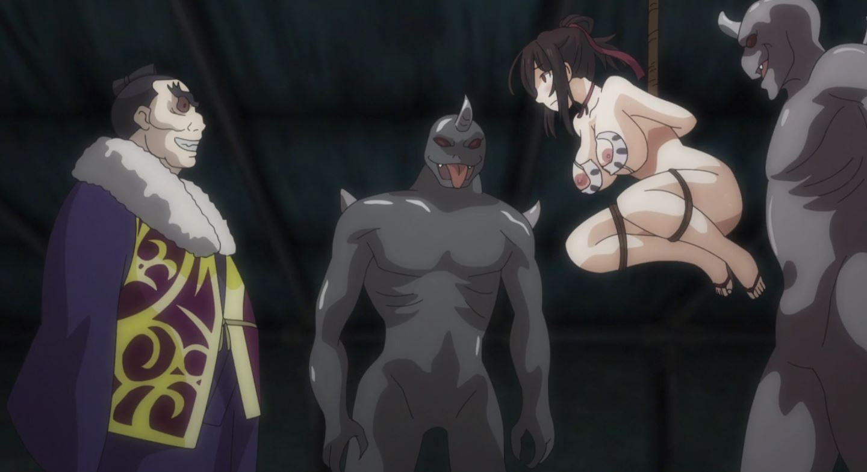 Kunoichi Botan Episódio 1 - Cenas e gifs