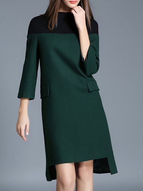 abito asimmetrico verde tendenze autunno 2016 super november sammy dress sconti sammy dress sconti black friday shopping on line fashion moda mariafelicia magno blogger italiane di moda