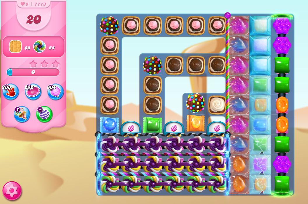 Candy Crush Saga level 7773