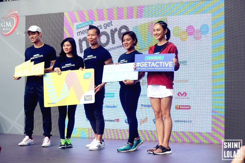 Kit Mah, Caryn Loh, Danny Hoh, Ann Osman and Lena Lim