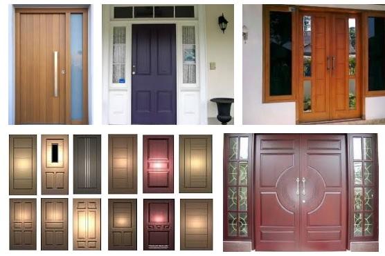 Model Pintu Rumah Sederhana Minimalis 2018