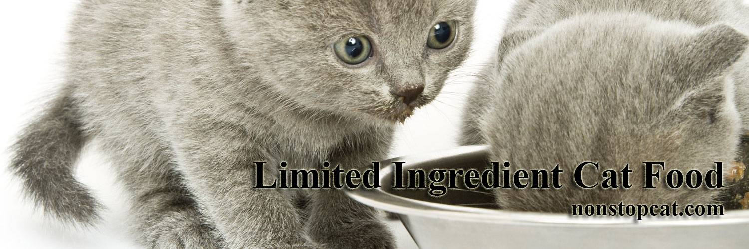Limited Ingredient Cat Food