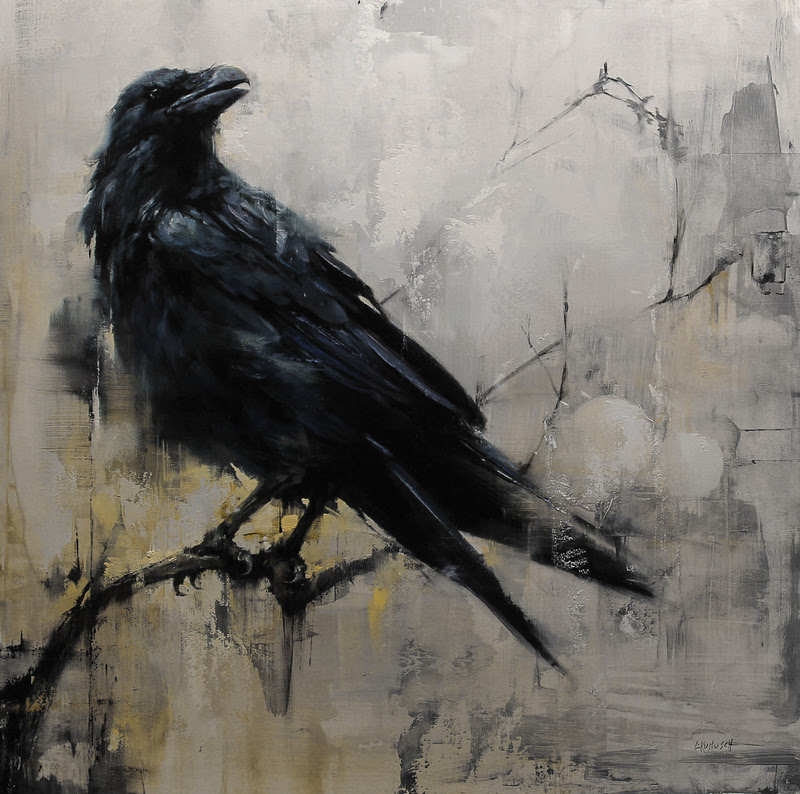 Paintings by Lindsey Kustusch from San Francisco, California.
