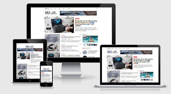SEO UP v1 Blogger Template Responsive and Fast Loading