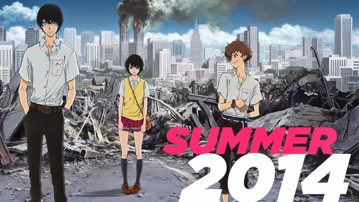 Upcoming Summer Anime 2014 Part 1