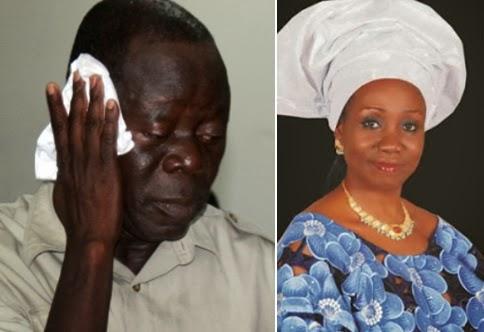 governor oshiomhole late wife