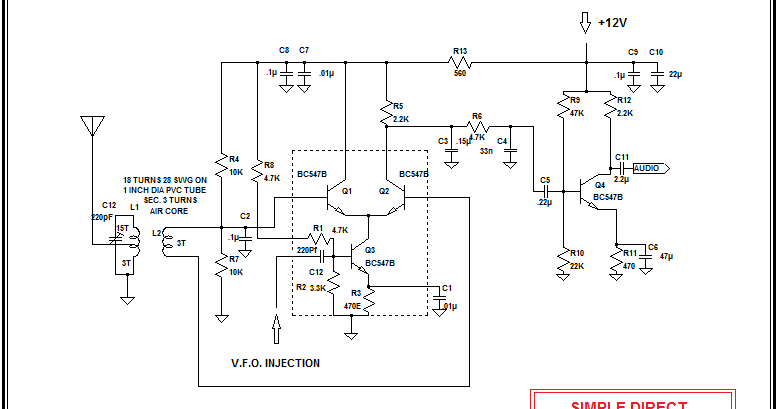 A Dc Receiver Using Home Brewed Mixer Ic