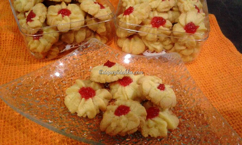 Kue Semprit Strawberry Dapur Jidahku Selai