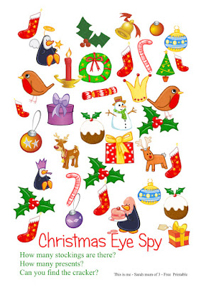 free childrens christmas activity print out