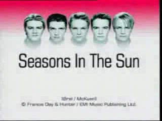 Westlife Lyrics - Seasons In The Sun