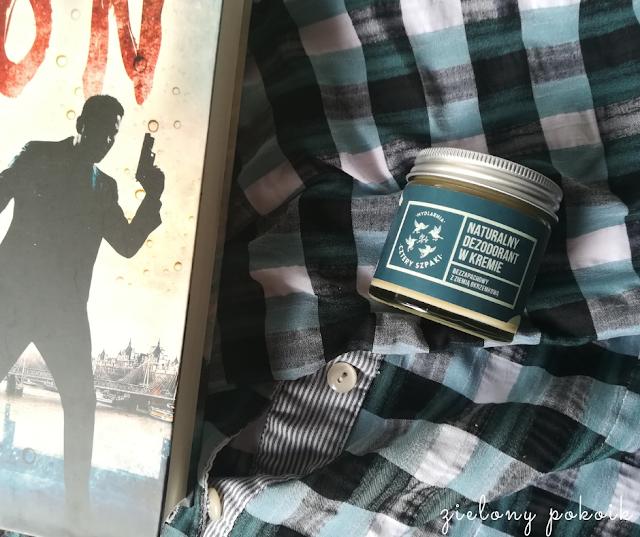 Kosmetycznie: Cztery Szpaki - Naturalny dezodorant w kremie