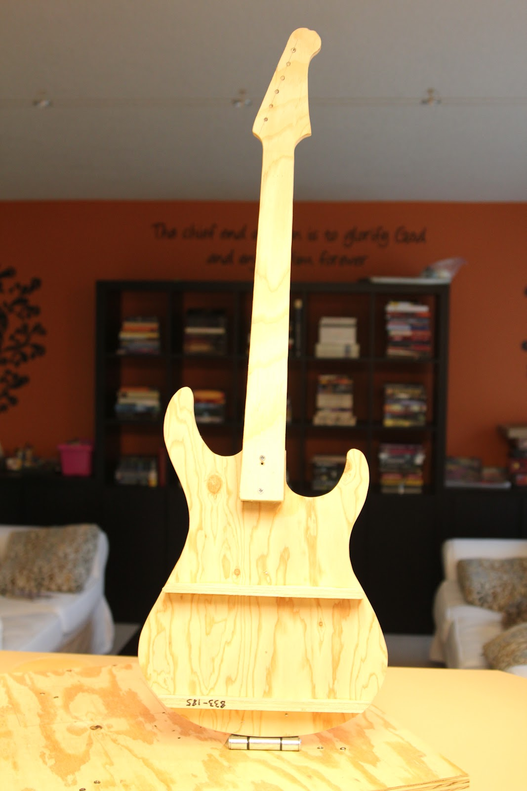 guitar templates for cakes - how to build a stand up electric guitar cake jessica