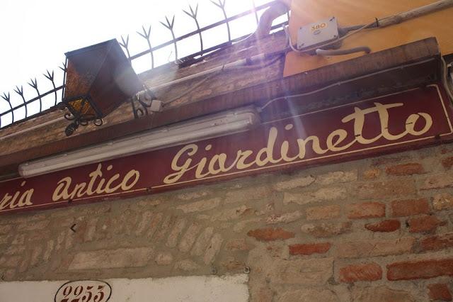 Osteria Antico Giardinetto em Veneza na Itália