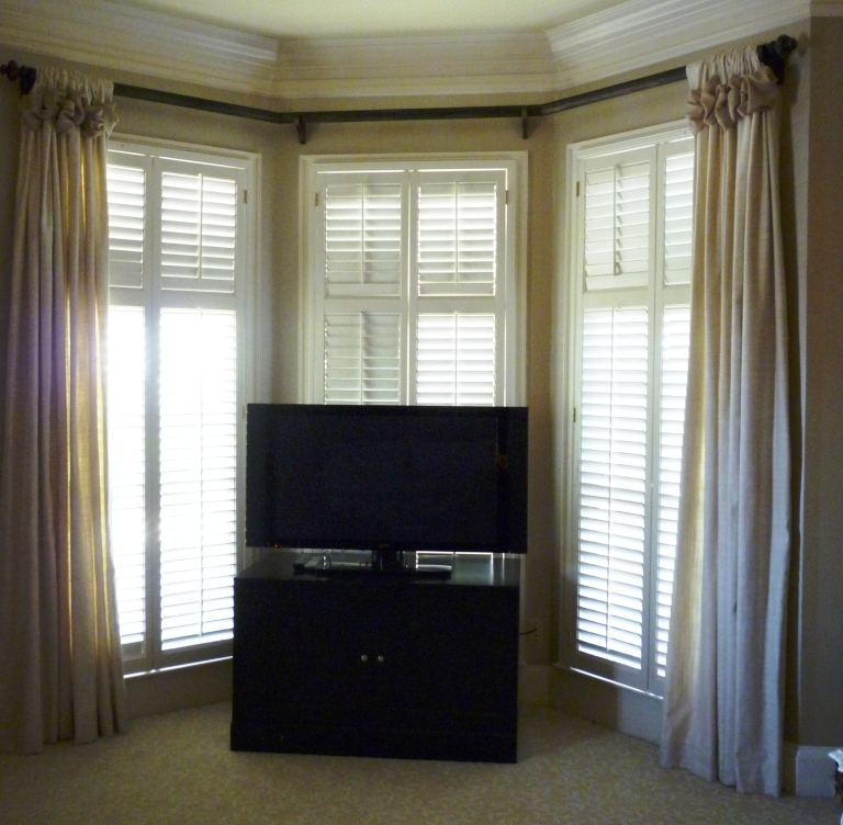Youngblood Interiors: A Bay Window Master Bedroom Makeover