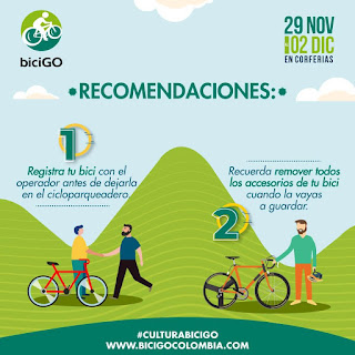 POS 1 Feria de bicicletas BICIGO 2018