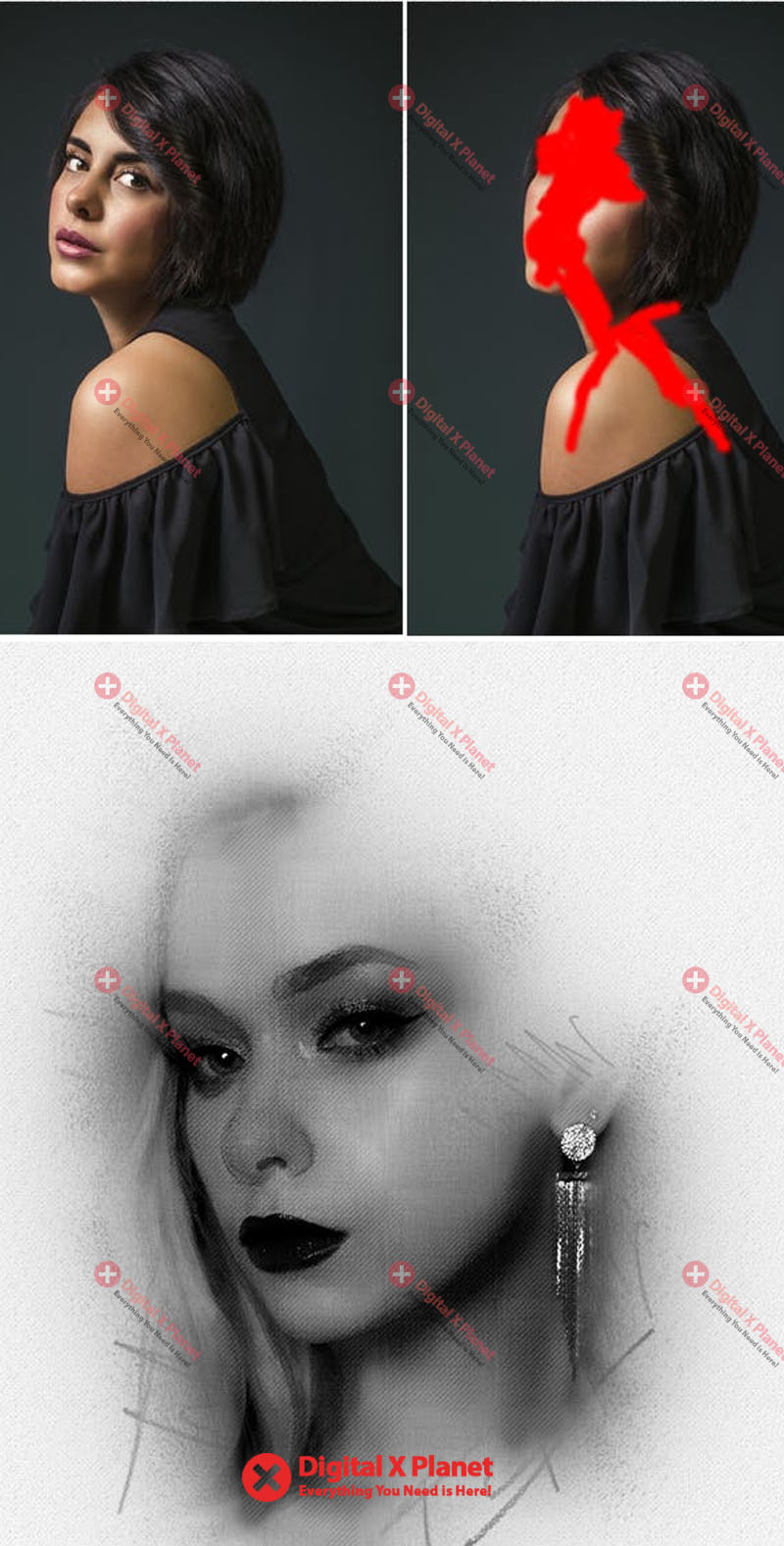 Pencil sketch photoshop action free download