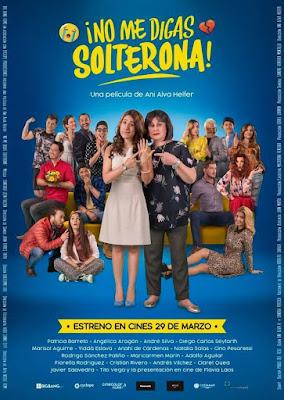 No Me Digas Solterona 2018 DVD R4 NTSC Latino