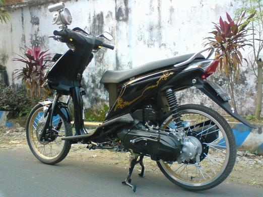 Modifikasi Motor Beat