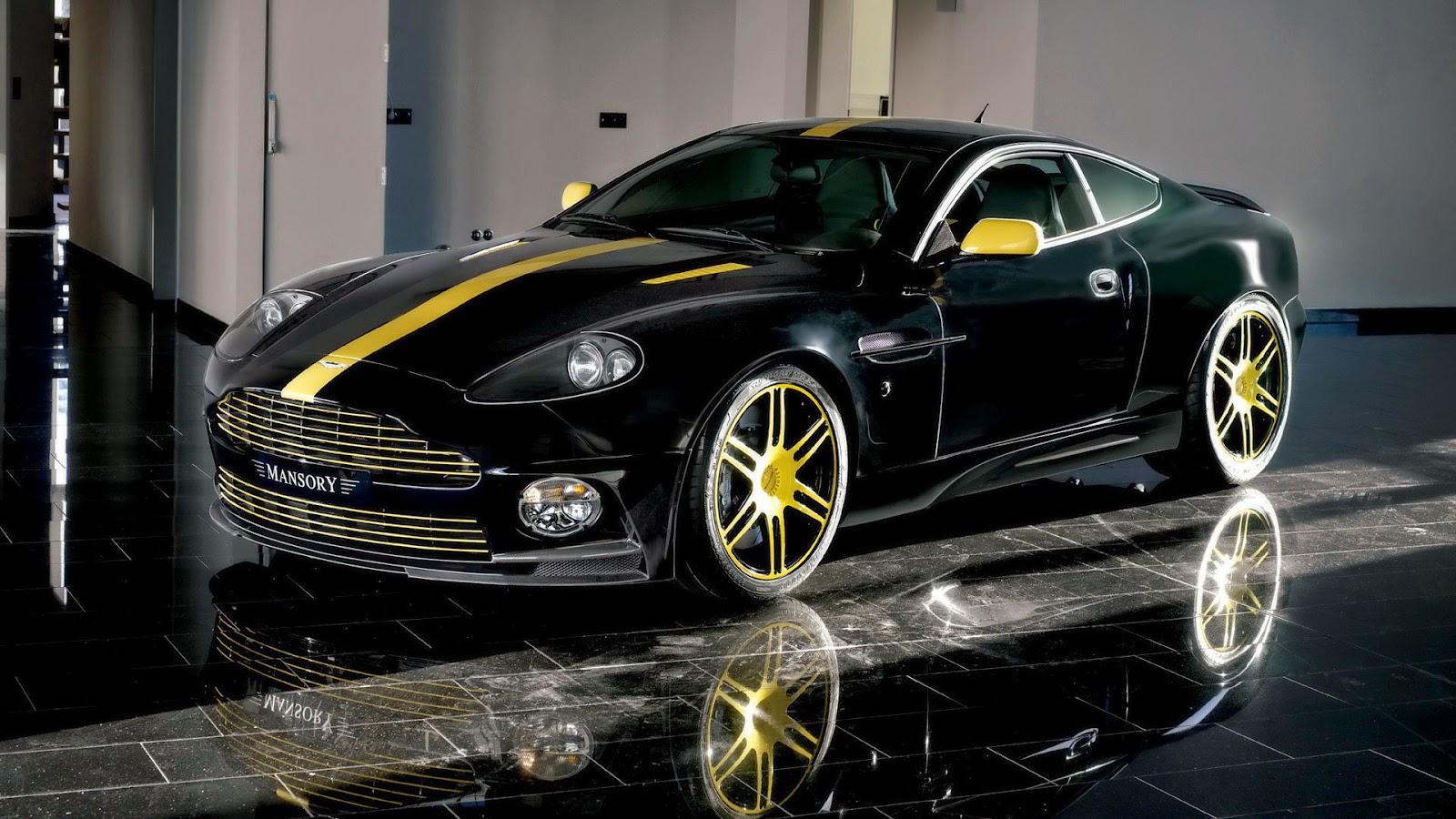 Aston Martin DB Custom Wallpaper Free Download HD