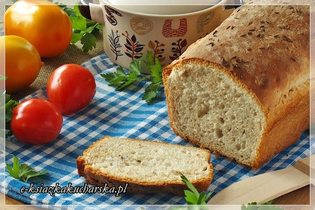 najlepszy przepis na domowy chleb pszenno-żytni, szynki i chrupiący