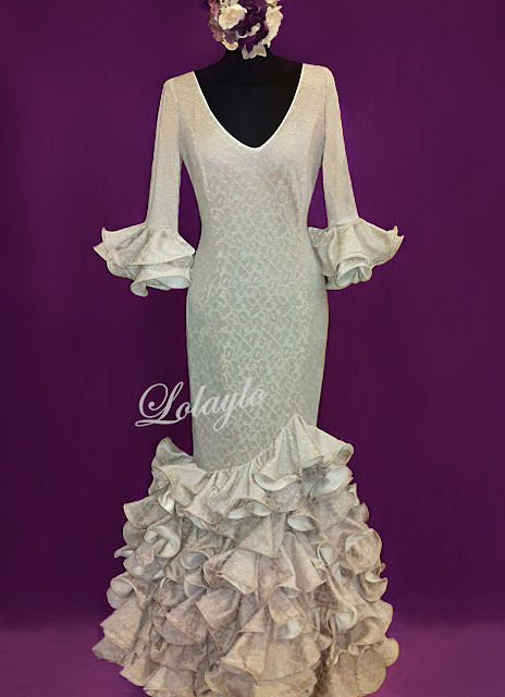Vestidos de gitana blancos