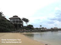 Hotel nirwana resort dan pantainya